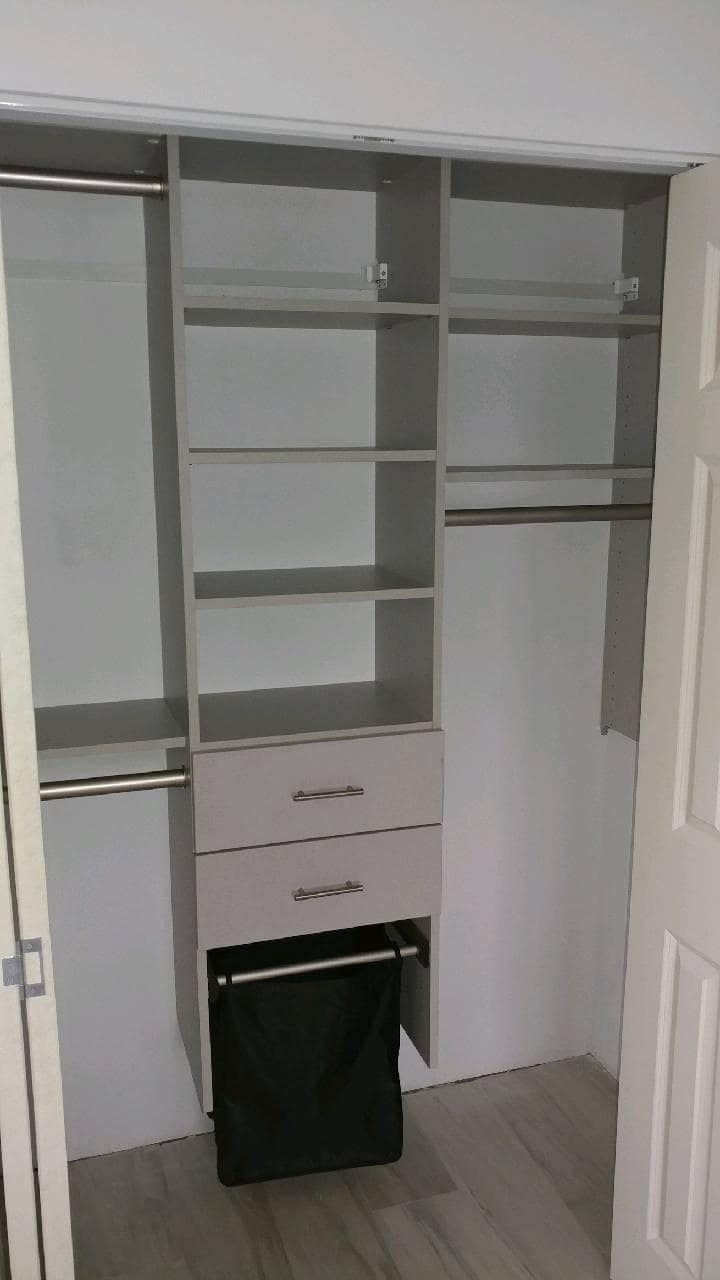 Wall Mounted Closets