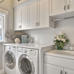 Custom laundry room fully furnished