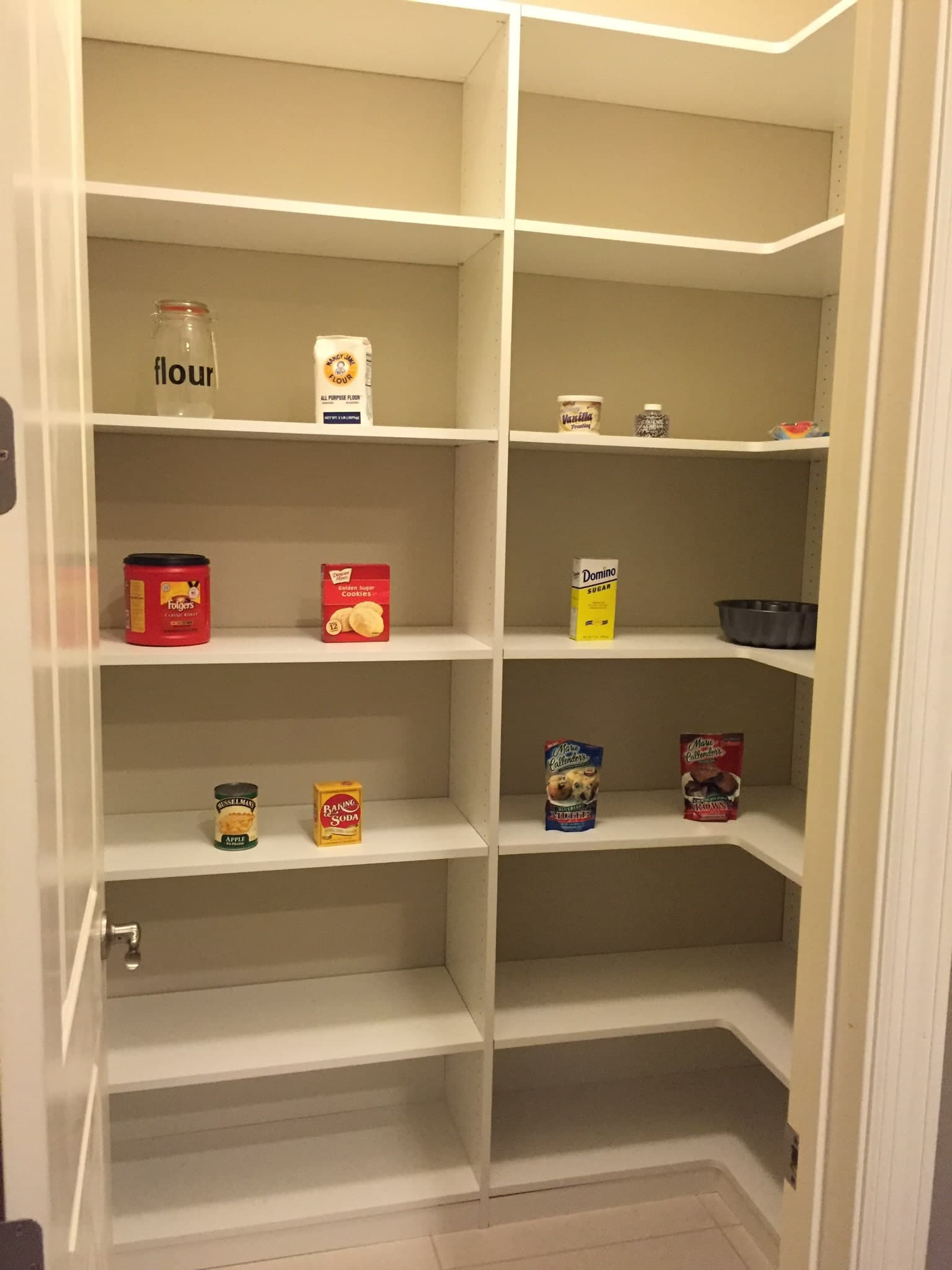 Custom Pantry bare