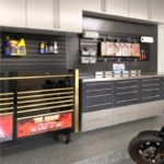 Custom Garage with tools