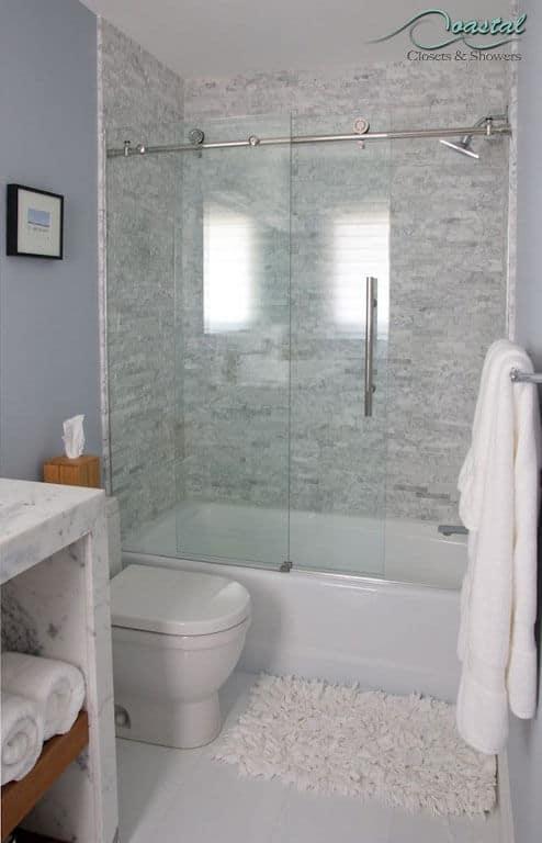 Semi-Frameless Shower Door