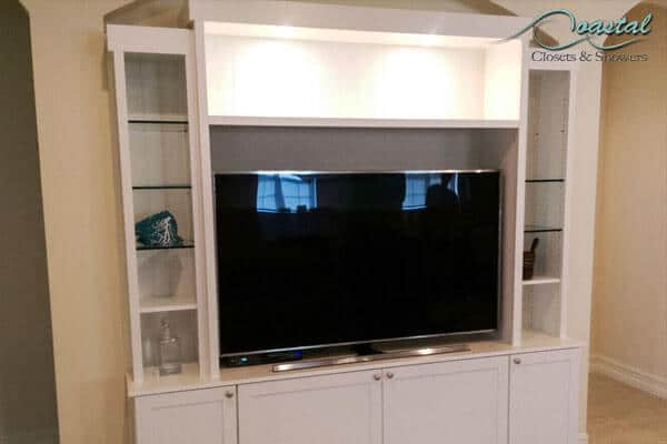Custom Wall Unit with decor