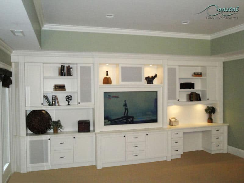 Custom Wall Unit far side