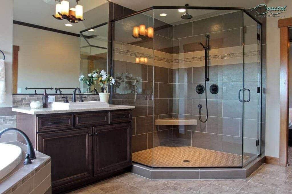 Semi-Frameless vs. Frameless Shower Designs