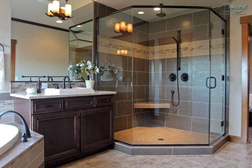 Semi-Frameless vs. Frameless Shower Designs