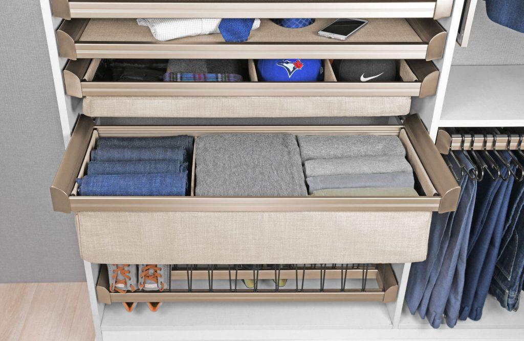 Specialized Storage for Custom Closets