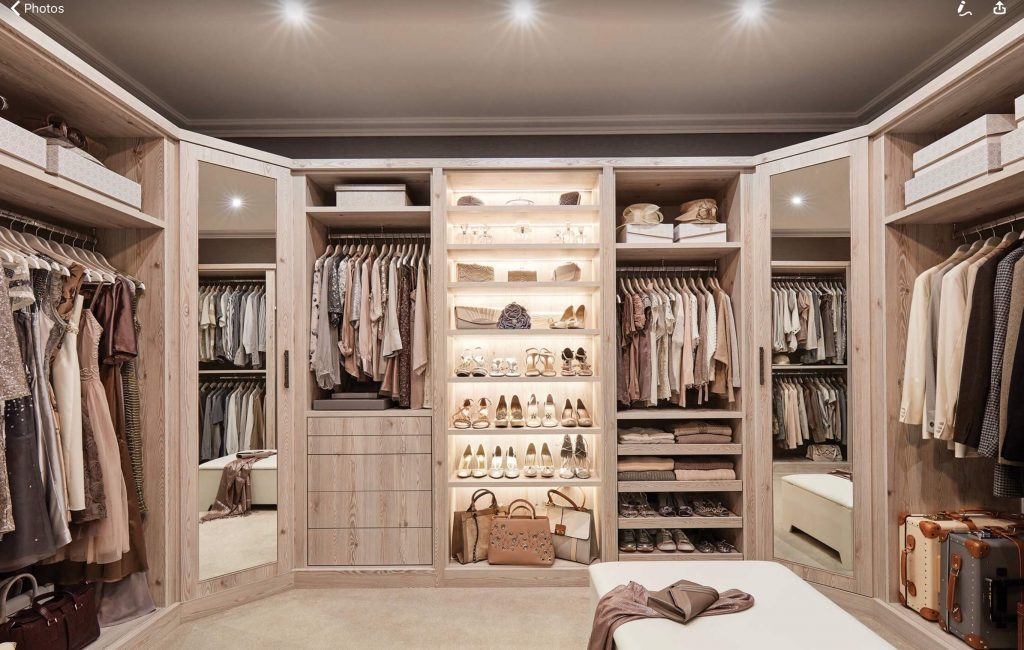 Specific Colors and Items for Custom Closet