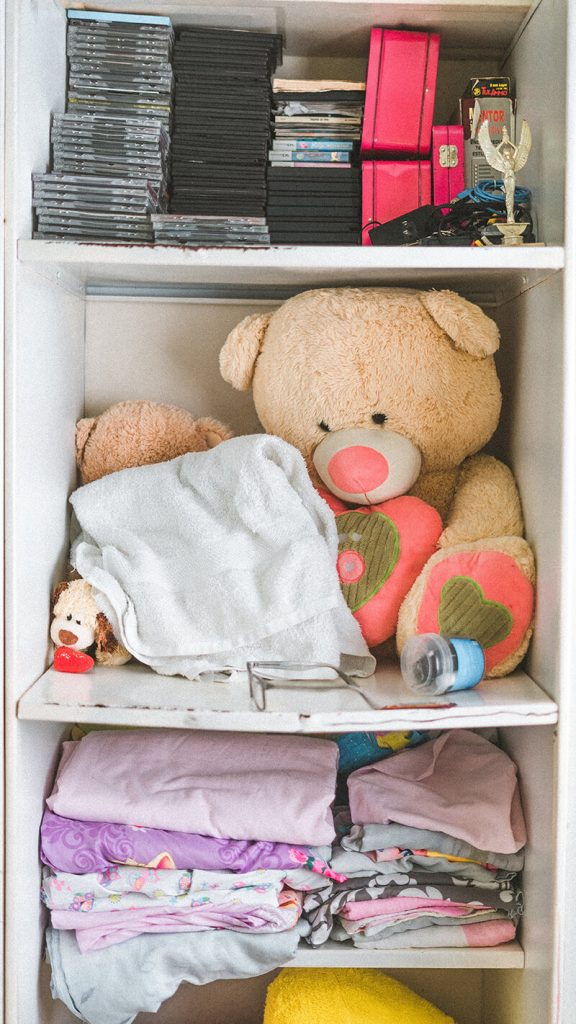 Efficient Use of Custom Closet Space