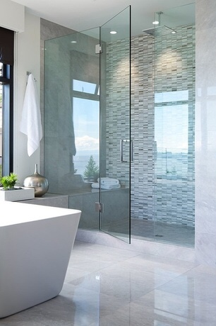 Pros and Cons of Frameless Shower Door Enclosures