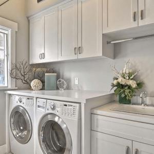 Custom laundry room fully furnished